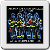 T-Shirt, All Men are created equal ... and then a few become brothers
